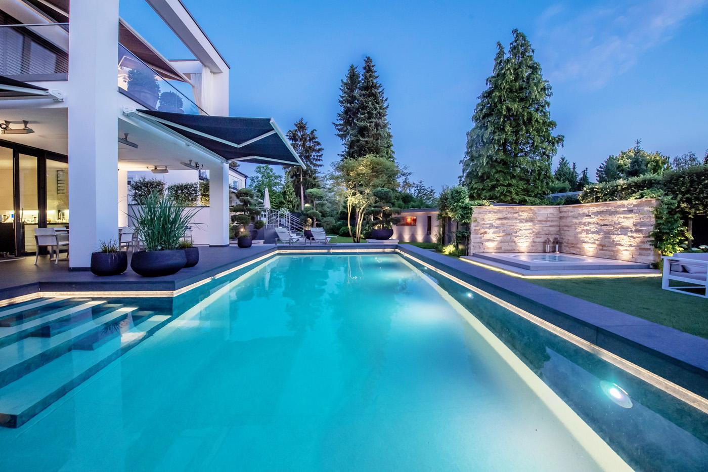 PoolDesign Privat-Resort Garten-Pool